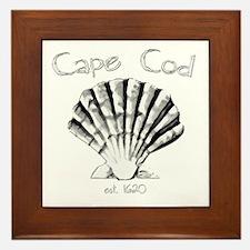 Cape Cod Est.1620 Framed Tile