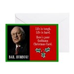 Cheney Goddamn Greeting Card