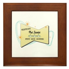 Instant Mad Scientist Framed Tile