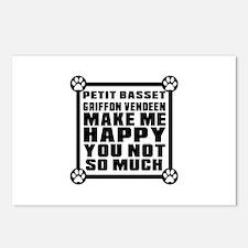 Petit Basset Griffon Vend Postcards (Package of 8)