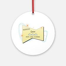 Instant Lyricist Ornament (Round)