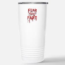 Fear Stainless Steel Travel Mug