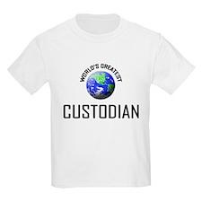 World's Greatest CUSTODIAN T-Shirt
