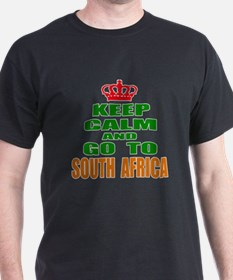 Keep calm and go to South Africa T-Shirt