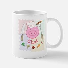 Pinky Chef Pig Mug