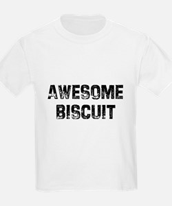 Awesome Biscuit Ash Grey T-Shirt