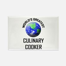 World's Greatest CULINARY COOKER Rectangle Magnet