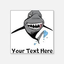 Cartoon Shark Sticker