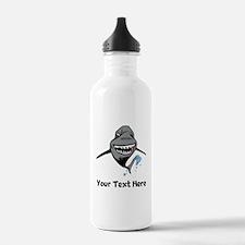 Cartoon Shark Water Bottle