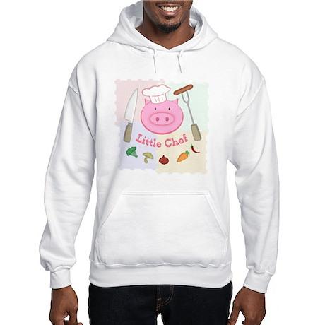 Little Pinky Chef Pig Hooded Sweatshirt