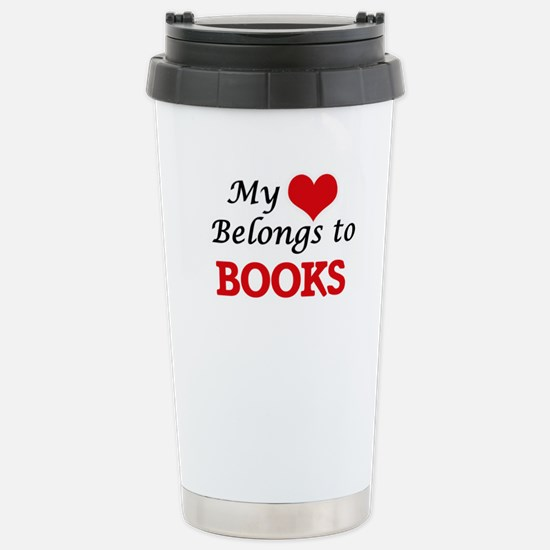 My heart belongs to Boo Stainless Steel Travel Mug
