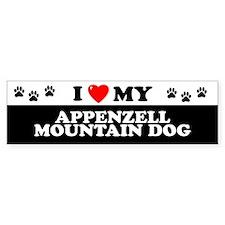 APPENZELL MOUNTAIN DOG Bumper Bumper Sticker