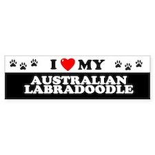 AUSTRALIAN LABRADOODLE Bumper Bumper Sticker