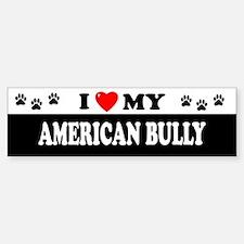 AMERICAN BULLY Bumper Bumper Bumper Sticker