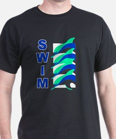 Swim Dolphins T-Shirt