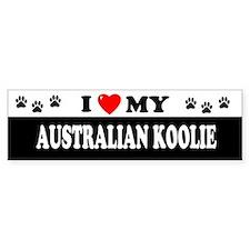 AUSTRALIAN KOOLIE Bumper Stickers