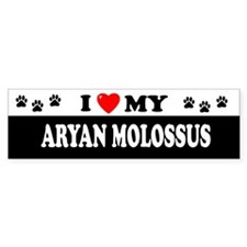 ARYAN MOLOSSUS Bumper Car Sticker