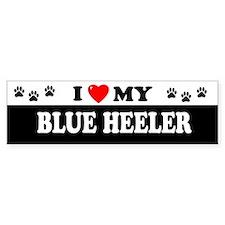 BLUE HEELER Bumper Bumper Stickers