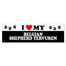 BELGIAN SHEPHERD TERVUREN Bumper Car Sticker