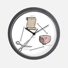 Cute Clever monkey studio Wall Clock