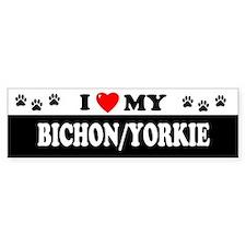 BICHON Bumper Bumper Sticker