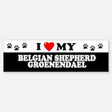 BELGIAN SHEPHERD GROENENDAEL Bumper Bumper Bumper Sticker