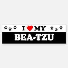 BEA-TZU Bumper Bumper Bumper Sticker