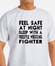 Feel Safe With FreestyleFighting Fig T-Shirt