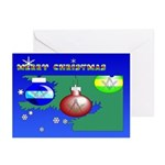 Masonic Christmas Tree Greeting Cards (Pk of 20)