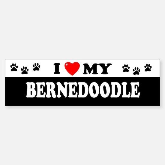 BERNEDOODLE Bumper Bumper Bumper Sticker