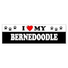 BERNEDOODLE Bumper Bumper Sticker