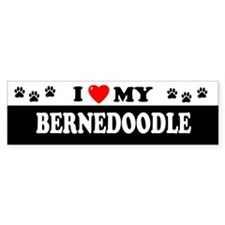 BERNEDOODLE Bumper Car Sticker