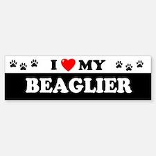 BEAGLIER Bumper Bumper Bumper Sticker