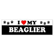 BEAGLIER Bumper Car Sticker