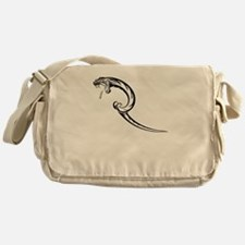 Viper Snake Messenger Bag