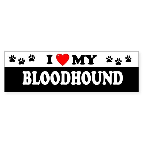 BLOODHOUND Bumper Sticker