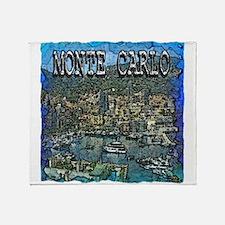 Monte Carlo Throw Blanket