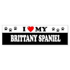 BRITTANY SPANIEL Bumper Bumper Sticker
