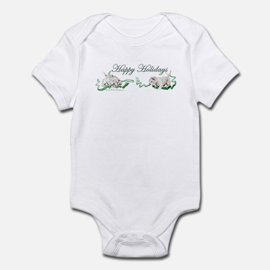 Westhighland Terrier Happy Ho Infant Bodysuit