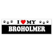 BROHOLMER Bumper Bumper Sticker