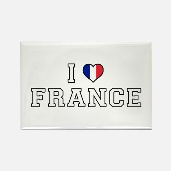 I Love France Magnets