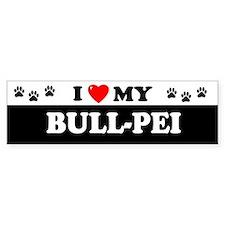 BULL-PEI Bumper Bumper Sticker