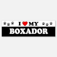 BOXADOR Bumper Car Car Sticker