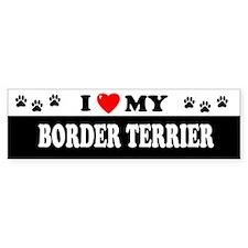BORDER TERRIER Bumper Bumper Sticker