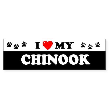 CHINOOK Bumper Sticker