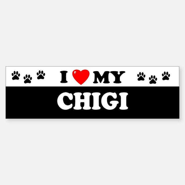 CHIGI Bumper Bumper Bumper Sticker