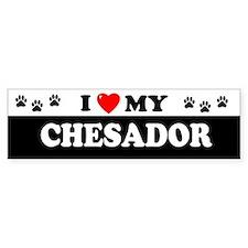 CHESADOR Bumper Car Sticker