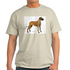Great Dane Dog Ash Grey T-Shirt