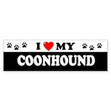 COONHOUND Bumper Bumper Sticker