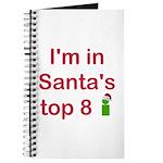 Santa's Top 8 Journal